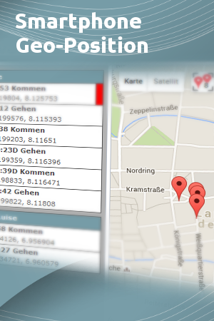 Terminal App Geo-Position