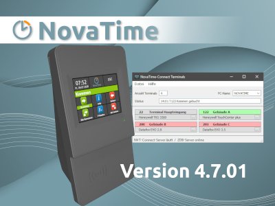 NovaTime Version 4.7.01