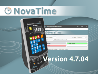 NovaTime Version 4.7.04