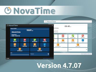 NovaTime Version 4.7.07