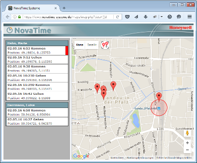 NovaTime Version 4.6.01
